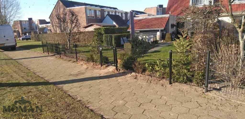 hekwerk tuin Coevorden